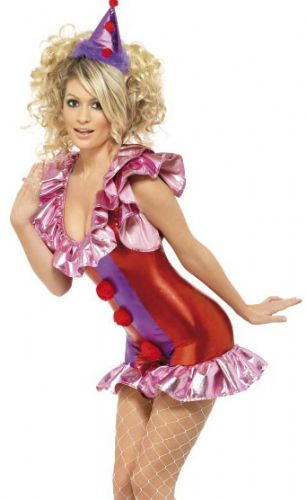 Playtime Clown - Sexy Fancy Dress (Smiffys 32249)